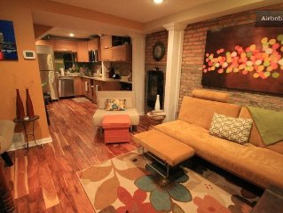 Newly renovated home, walk to Harbor East, Fells Point, Little Italy & Harbor