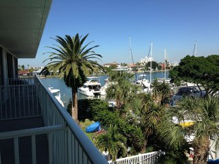 Clearwater Beach Waterfront Studio located south beach next to Clearwater Yacht