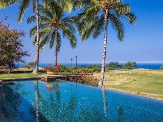 Mauna Kea Luxury - 180º Ocean, Maui & Sunset Views, Heated Private Pool