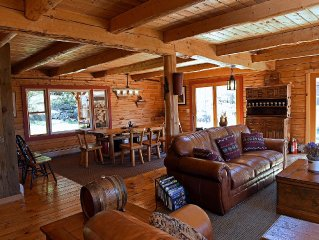 A Great 4 Season Home ;  Relaxing, Rustic, Scenic - This Home Has It All