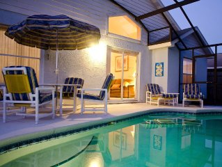 Luxurious family friendly home, with private pool near Disney!