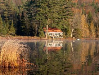 Secluded Cabin on 215 Acres With Its Own Pond