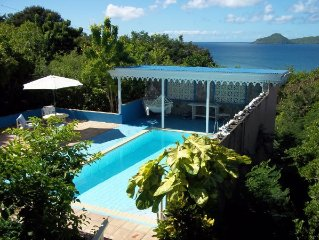 Charming Property! Beautiful ocean and St Kitts Views!