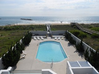 ATLANTIC PARADISE  * OCEANFRONT  * POOL & HOT TUB * BEST LOCATION * PRIVACY