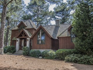Spacious 3 bedroom golf cottage with sweeping views of Cuscowilla's #2 Fairway