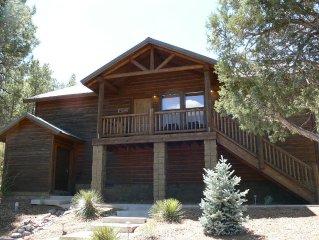 Show Low Bison Ridge Cabin FREE WiFi