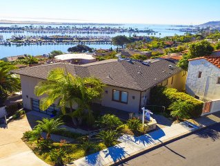 Stunning Villa With Panoramic Views Of San DiegoBay/Shelter Island & Skyline!