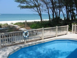 On the Sand with Pool - Treasure Island, Florida