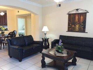 New Listing!! Newly furnished condo, I-10 West/Beltway 8, 3 bedrm 2 bath, 77080