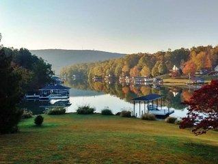 Smith Mountain Lake vacation rental, waterfront, quiet, dock, swimming