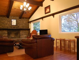 Cozy, Timber Framed Mountain Home In Franconia Notch/Cannon Mtn.