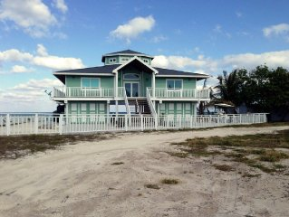 Paradise found in South Bimini, Oceanfront 3/3 House