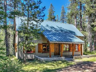 1930's Authentic Vintage Tahoe Cabin On The River - Charming And Spacious