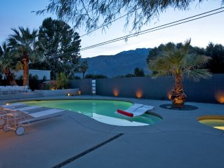 Mid-century Alexander with pool, high end finishes and mountain views.