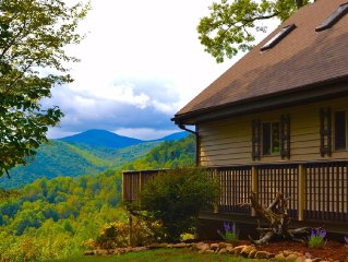 Private Cabin Near Boone - Great View - Hot Tub & Hiking/Horse Trails