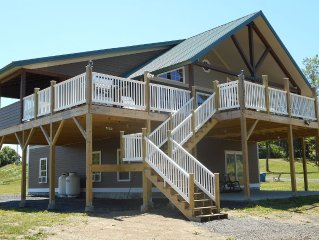 Private & Peacefull LakeFront, Boat Launch, Boat, Dock, Fire Pit, Dog Friendly