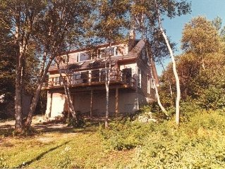 Camden Area, Oceanfront Georgeous  Views Wooded Privacy & Scenic Deck Call Owner