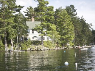 Lakefront Home with private dock on Great East Lake - Smoke Free