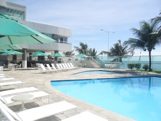 Flat seafront on Ponta Negra Beach Hotel Nobile Suite (4 stars)