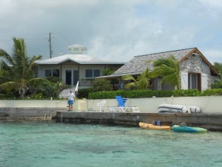 Water-front Bahamian Island Home (Also see The Boat House - Property 3684530)