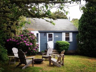 Charming Cottage -1 block from Ridgevale Beach -July Special ! See our Toy Shed