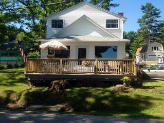 Plan a vacation getaway in beautiful Wards Cove on Big Sebago Lake!