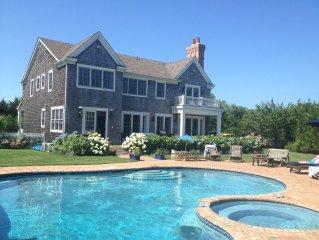 Hampton Estate With Pool And Tennis