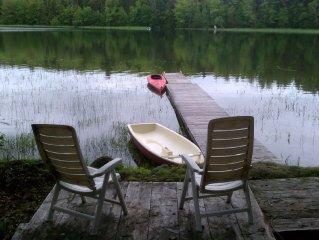 "Eastbrook, Maine - Lakefront Rental - WiFi / DirecTV on 40"" TV"