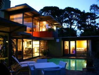 Luxury 3 Bedroom Mid-Century Home with Pool & Loft