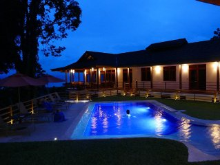 Ocean View Jungle Luxury 6 Bedroom Villa With Private Golf Course And Chef.
