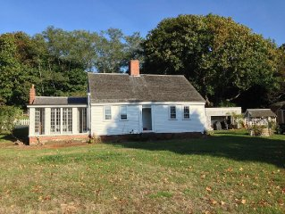 Save $500 on last 2 summer weeks available! 1740's House with modern amenities!
