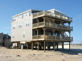 Beachfront, Indoor Pool, Hot Tub 10 Br, 7 Ba, Sleeps 28, Gameroom