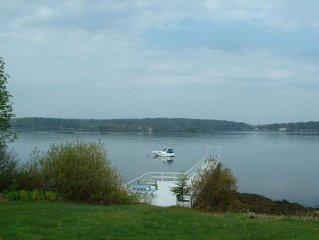 Beautiful Oceanfront Condo on Linekin Bay with Spectacular Views! Sleeps 6!