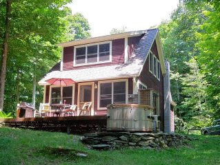 Private House with 50 Acres on the Mad River!