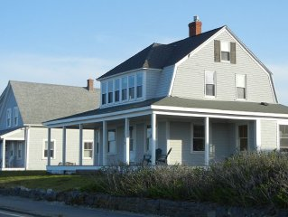 Restored 1910 Victorian Beach House. Brilliant 180 degree ocean view.