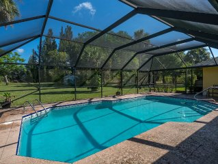 Wellington, FL Vacation Home w/ Pool, Game Room, Foosball, Ping Pong, BBQ Grill