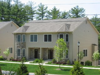 Lake George Getaway Rental with lake views near Million $ Beach and village