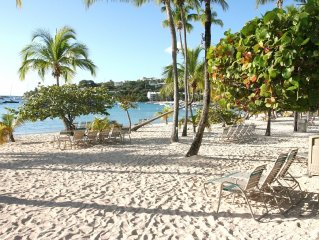 Gorgeous Beachfront Condo at the Elysian Beach Resort, Pool, Tennis and More