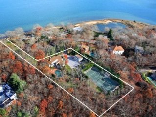 Private Heated Pool, All Weather Tennis Court,  Waterfront - Spectacular