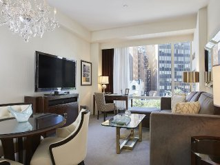 Modern Decor, 5-Star Hotel Amenities,  Steps From Central Park!