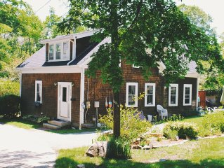 Charming cottage, four bedroom, sleeps six, near beach, in Gloucester, MA.