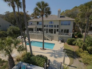 Palmetto Dunes Oceanfront!4 of 5  bedrooms are oceanfront  with jacuzzi tubs