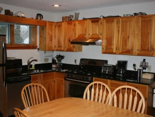 On-mountain condo  Bright,updated kitchen with  stainless appliances.