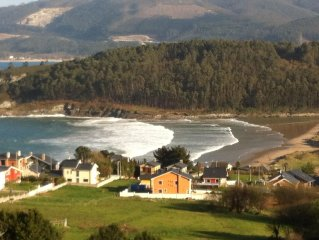 Amazing sea view! Coast of Galicia,Spain!! 5 minute walk to the beach!!