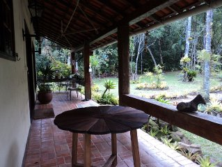 Cozy site in the Atlantic Forest