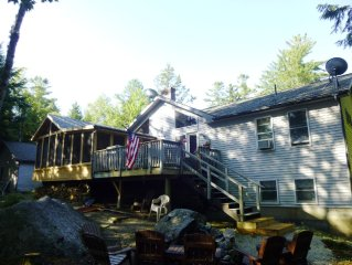 Best of Both Worlds!-  Beautiful lakefront home near ocean on Toddy Pond