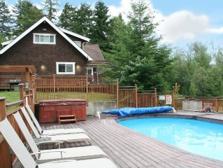 Incredible home on the lake. Your own private resort. Hot tub, pool, dock, etc.!