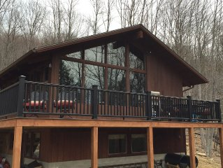 Beautiful Jackson NH mountain style home minutes from hiking and skiing.
