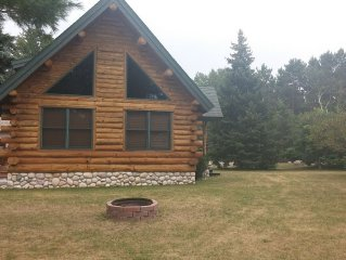 Log cabin sleeps 10. Add MyMyMy to sleep 22 more. It is right next door.