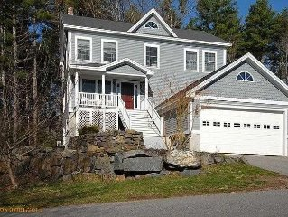 5+ bed, 4 bath luxury vacation home walking distance to beach and town.